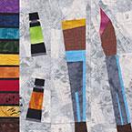 Artist Paintbox Make Art Quilt Pattern