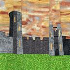 Wonky Castle Quilt Pattern