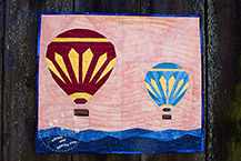 Hot Air Balloons Quilt Pattern