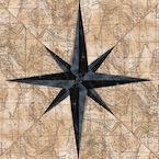 Compass Quilt Pattern