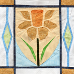 Welsh Daffodil Quilt Pattern