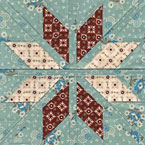 Fair Isle Star Quilt Pattern