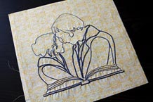 Pride And Prejudice Embroidery Pattern