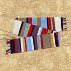 Fourth Doctor Scarf Doctor Who Quilt Pattern