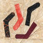 Harry Potter Quilt Dobby's Socks Quilt Pattern