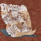 Harry Potter Marauder's Map Paper Piecing Pattern