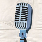 Vintage Microphone Quilt Pattern