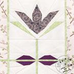 Tulip Flower Quilt Pattern