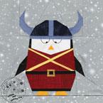 Viking Penguin Quilt Pattern
