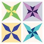 Pinwheel Star Quilt Pattern