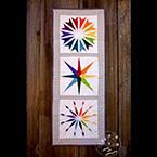 Rainbow Star Quilt Pattern Set