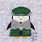 Scottish Penguin Quilt Pattern