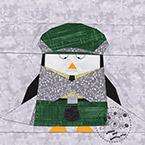 Scottish Penguin Quilt Pattern