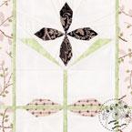 Clematis Flower Quilt Pattern
