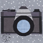 Camera Quilt Pattern