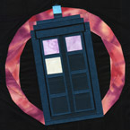 Tardis Doctor Who Quilt Pattern