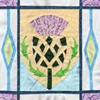 Scottish Thistl Quilt Pattern