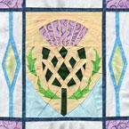 Scottish Thistl Quilt Pattern