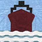 Board A Ship - Travel Quilt Pattern