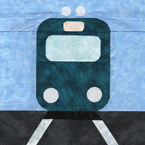 Take The Train - Travel Quilt Pattern