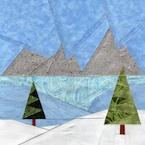 Winter Landscape Meadow Quilt Pattern