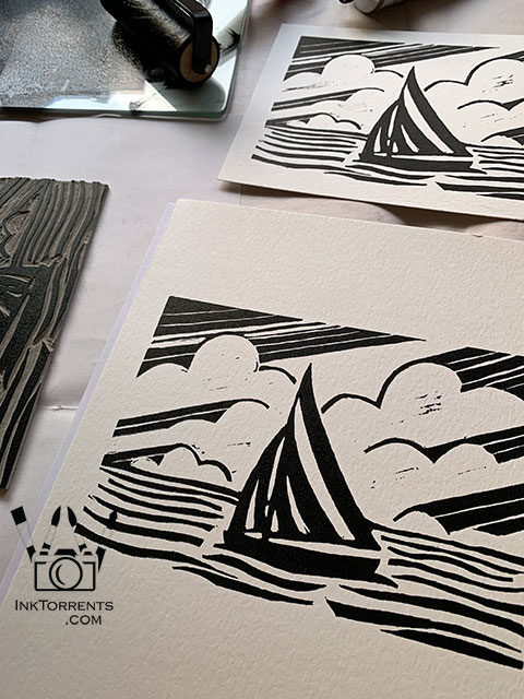 Printmaking by InkTorrents Graphics Soma Acharya - Whims And Fancies