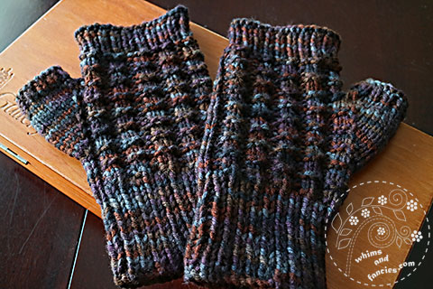Fingerless Mittens | Whims And Fancies