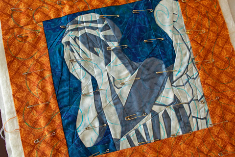 Weeping Angel Quilt | Whims And Fancies