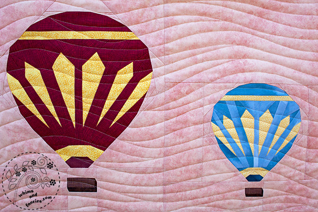 Hot Air Balloons Quilt Pattern | Whims And Fancies