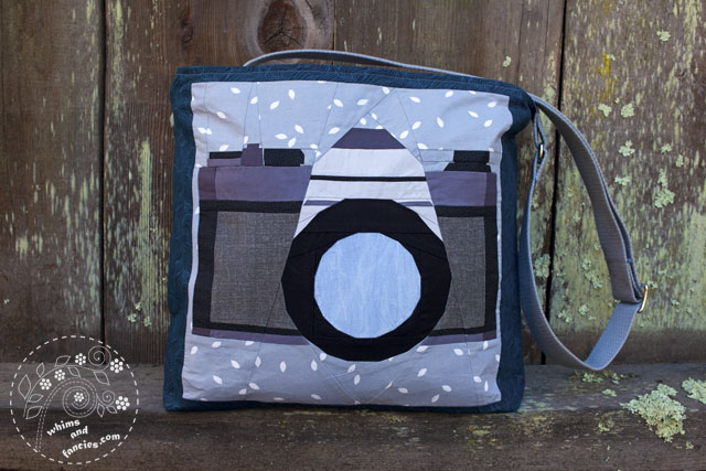Camera Quilt Pattern | Whims and Fancies