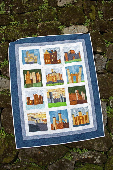 Castle Quilts Pattern | Whims And Fancies