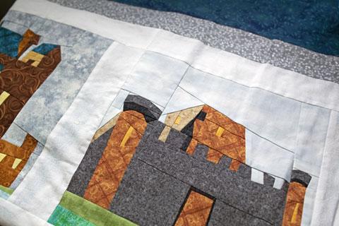 Castle Quilt Top