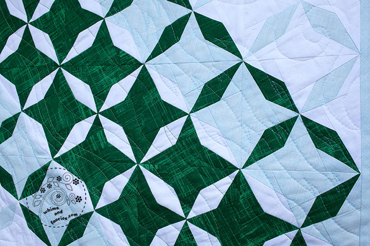 Pinwheel Star Quilt Pattern | Whims And Fancies