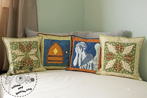 Quilted Pillows | Whims And Fancies