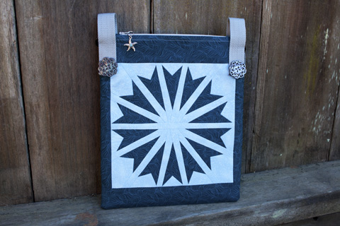 Star Quilt Pattern Cross Body Bag | Whims And Fancies