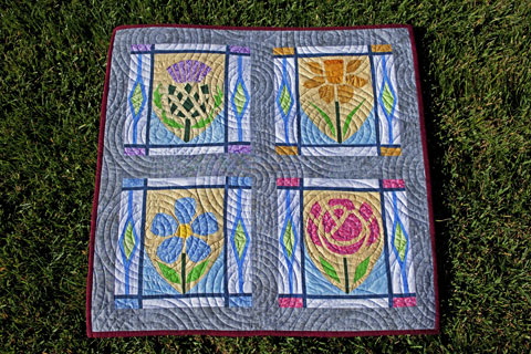Flowers Quilt Pattern | Whims And Fancies
