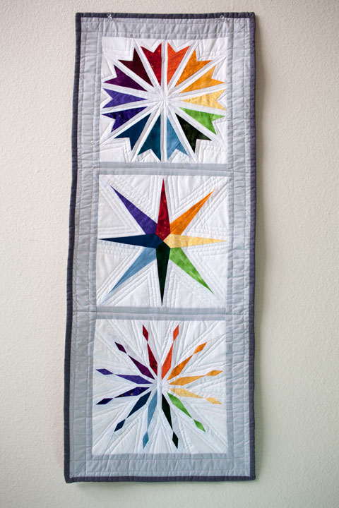 Rainbow Star Wall Hanging