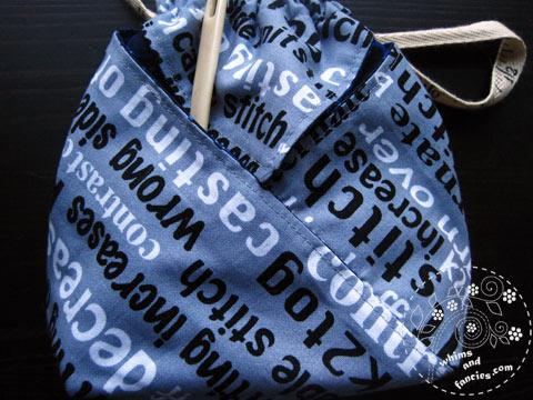 Knitting Bag | Whims And Fancies