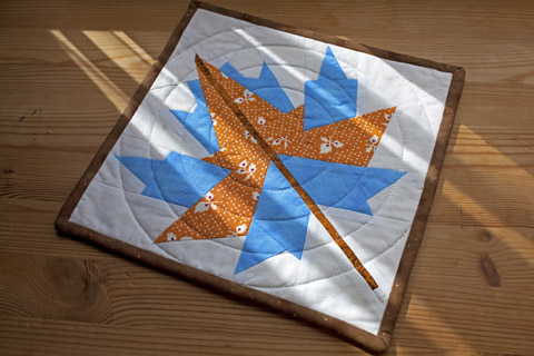 Maple Leaf Quilt Pattern | Whims And Fancies