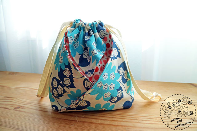 Knitting And Sewing Gift Bag | Whims And Fancies