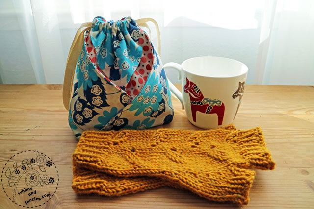 Knitting And Gift Bag | Whims And Fancies