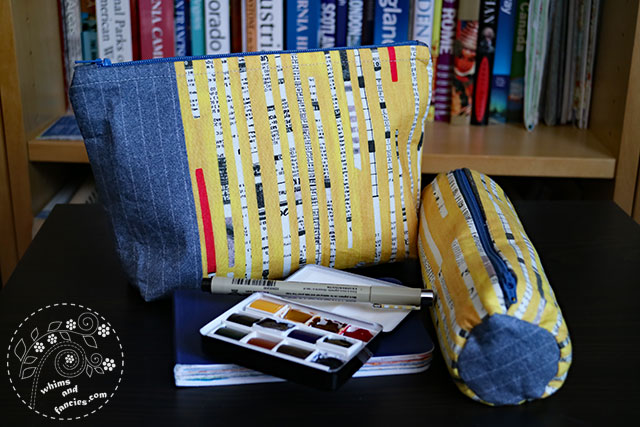 Art Supply Zipper Bag | Whims And Fancies