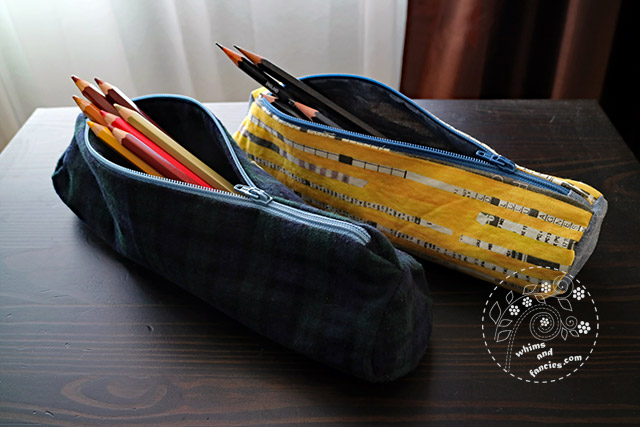 Round Pencil Case | Whims And Fancies
