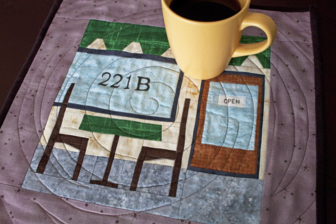 Sidewalk Cafe Quilt Pattern for travel or coffee and tea lover | Whims And Fancies