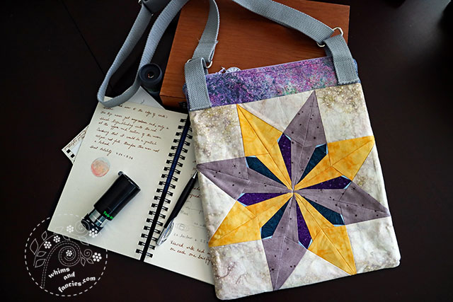 Bag With Star Quilt Pattern | Whims And Fancies