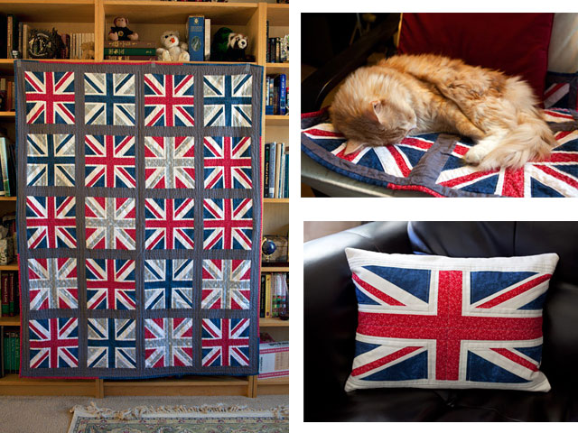 Union Jack Quilt Pattern | Whims And Fancies