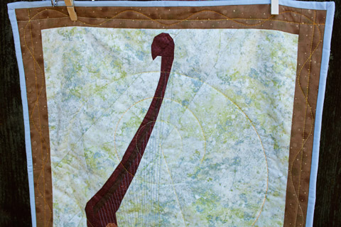 Vulcan Harp Star Trek Quilt Pattern