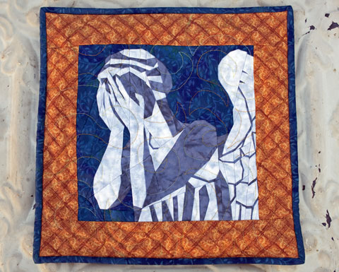 Doctor Who Weeping Angel Quilt Pattern | Whims And Fancies