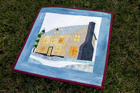 Stone House Quilt Pattern | Whims And Fancies