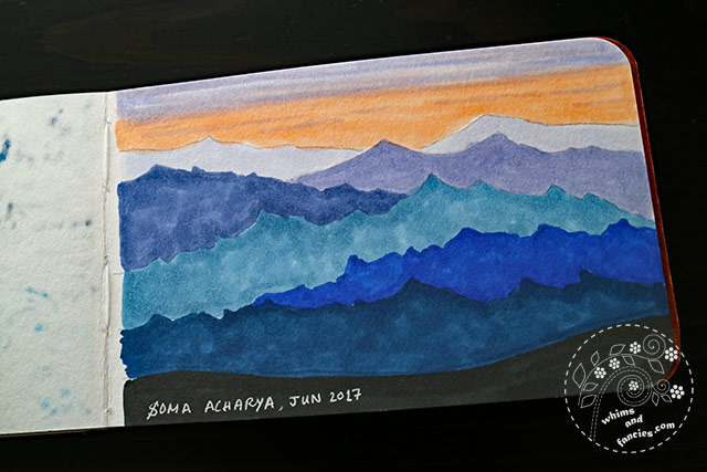 Sketchbook 2017 - Dawn Prismacolor Marker & Copic Marker | Whims And Fancies